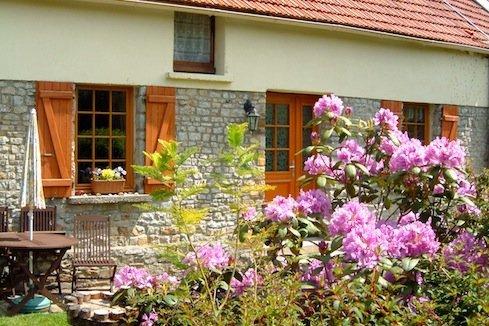 Garden Gite La Bucaille spring colour