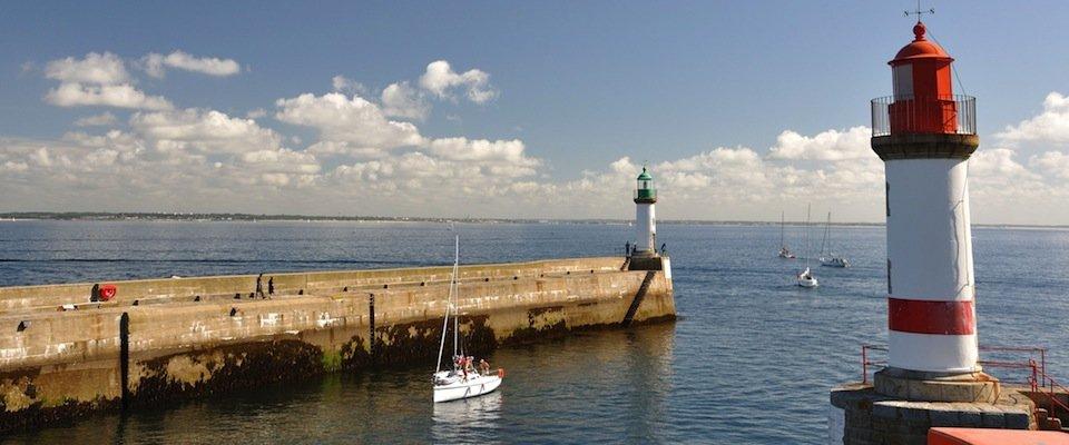 À proximité des ports maritimes